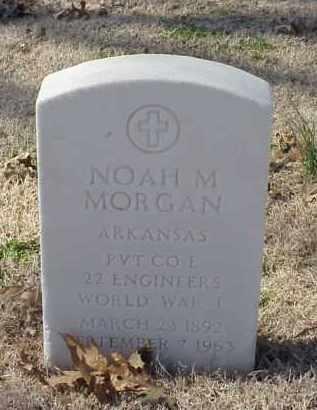 MORGAN (VETERAN WWI), NOAH M - Pulaski County, Arkansas | NOAH M MORGAN (VETERAN WWI) - Arkansas Gravestone Photos