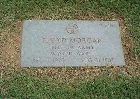 MORGAN (VETERAN WWII), FLOYD - Pulaski County, Arkansas   FLOYD MORGAN (VETERAN WWII) - Arkansas Gravestone Photos