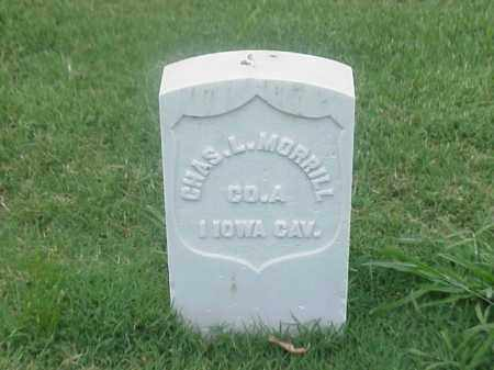 MORRILL (VETERAN UNION), CHARLES L - Pulaski County, Arkansas | CHARLES L MORRILL (VETERAN UNION) - Arkansas Gravestone Photos