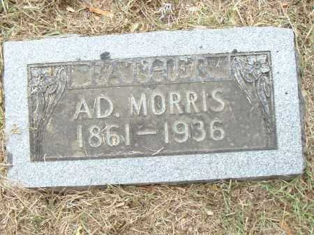 MORRIS, AD. - Pulaski County, Arkansas | AD. MORRIS - Arkansas Gravestone Photos