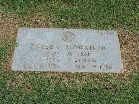 MORRIS III (VETERAN 2 WARS), CALEB - Pulaski County, Arkansas | CALEB MORRIS III (VETERAN 2 WARS) - Arkansas Gravestone Photos