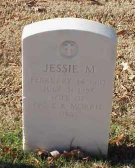 MORRIS, JESSIE M. - Pulaski County, Arkansas   JESSIE M. MORRIS - Arkansas Gravestone Photos