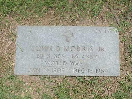 MORRIS, JR VETERAN WWII), JOHN B - Pulaski County, Arkansas | JOHN B MORRIS, JR VETERAN WWII) - Arkansas Gravestone Photos