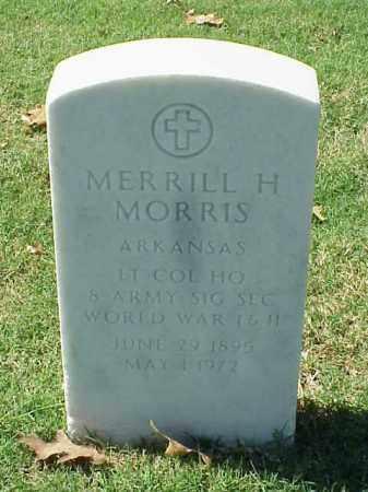 MORRIS (VETERAN 2 WARS), MERRILL H - Pulaski County, Arkansas   MERRILL H MORRIS (VETERAN 2 WARS) - Arkansas Gravestone Photos