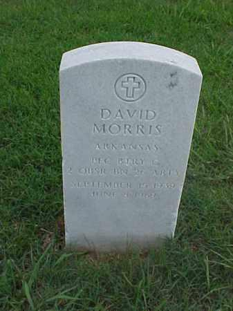 MORRIS (VETERAN), DAVID - Pulaski County, Arkansas | DAVID MORRIS (VETERAN) - Arkansas Gravestone Photos
