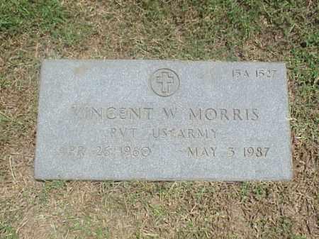 MORRIS (VETERAN), VINCENT W - Pulaski County, Arkansas   VINCENT W MORRIS (VETERAN) - Arkansas Gravestone Photos