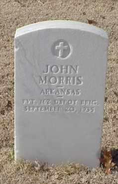 MORRIS (VETERAN WWI), JOHN - Pulaski County, Arkansas | JOHN MORRIS (VETERAN WWI) - Arkansas Gravestone Photos