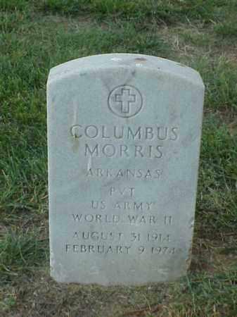 MORRIS (VETERAN WWII), COLUMBUS - Pulaski County, Arkansas | COLUMBUS MORRIS (VETERAN WWII) - Arkansas Gravestone Photos