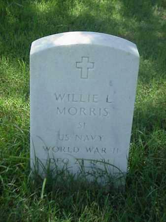 MORRIS (VETERAN WWII), WILLIE L - Pulaski County, Arkansas | WILLIE L MORRIS (VETERAN WWII) - Arkansas Gravestone Photos