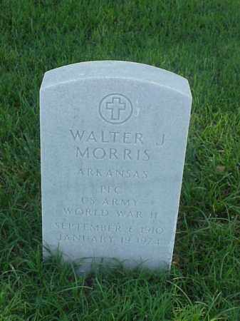 MORRIS (VETERAN WWII), WALTER J - Pulaski County, Arkansas | WALTER J MORRIS (VETERAN WWII) - Arkansas Gravestone Photos