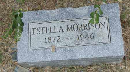 MORRISON, ESTELLA - Pulaski County, Arkansas | ESTELLA MORRISON - Arkansas Gravestone Photos