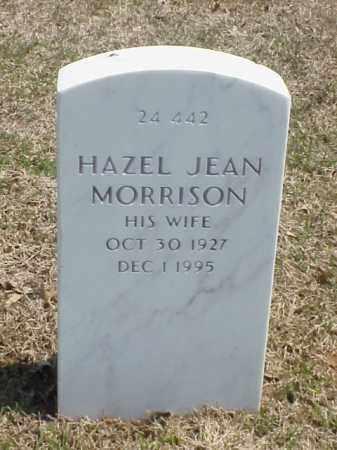 MORRISON, HAZEL JEAN - Pulaski County, Arkansas | HAZEL JEAN MORRISON - Arkansas Gravestone Photos