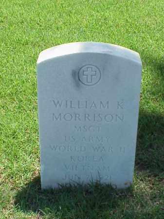 MORRISON (VETERAN 3 WARS), WILLIAM K - Pulaski County, Arkansas | WILLIAM K MORRISON (VETERAN 3 WARS) - Arkansas Gravestone Photos