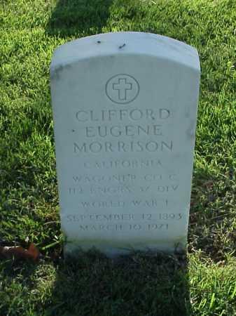 MORRISON (VETERAN WWI), CLIFFORD EUGENE - Pulaski County, Arkansas   CLIFFORD EUGENE MORRISON (VETERAN WWI) - Arkansas Gravestone Photos
