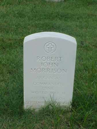 MORRISON (VETERAN WWII), ROBERT JOHN - Pulaski County, Arkansas   ROBERT JOHN MORRISON (VETERAN WWII) - Arkansas Gravestone Photos