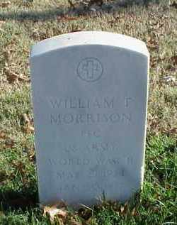 MORRISON (VETERAN WWII), WILLIAM T - Pulaski County, Arkansas | WILLIAM T MORRISON (VETERAN WWII) - Arkansas Gravestone Photos