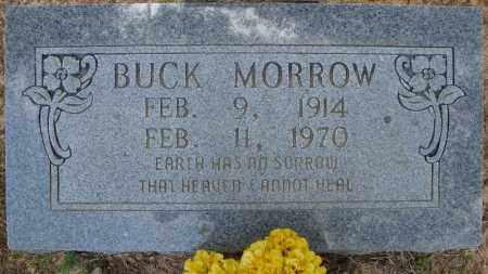 MORROW, BUCK - Pulaski County, Arkansas | BUCK MORROW - Arkansas Gravestone Photos