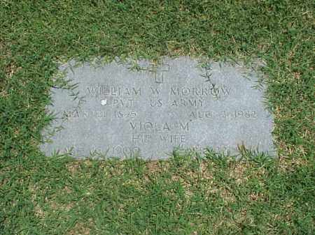 MORROW, VIOLA M - Pulaski County, Arkansas   VIOLA M MORROW - Arkansas Gravestone Photos