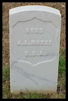 MORSE (VETERAN SAW), JOSEPH A - Pulaski County, Arkansas | JOSEPH A MORSE (VETERAN SAW) - Arkansas Gravestone Photos