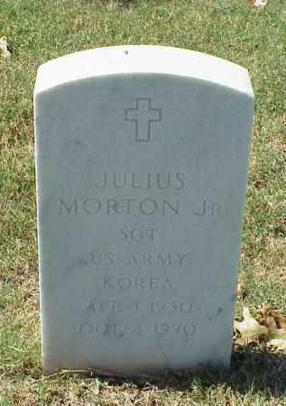 MORTON, JR (VETERAN KOR), JULIUS - Pulaski County, Arkansas | JULIUS MORTON, JR (VETERAN KOR) - Arkansas Gravestone Photos