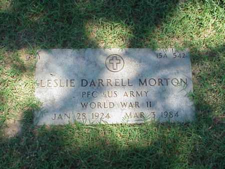 MORTON (VETERAN WWII), LESLIE DARRELL - Pulaski County, Arkansas   LESLIE DARRELL MORTON (VETERAN WWII) - Arkansas Gravestone Photos