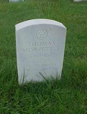 MORZETTES (VETERAN WWI), THOMAS - Pulaski County, Arkansas | THOMAS MORZETTES (VETERAN WWI) - Arkansas Gravestone Photos