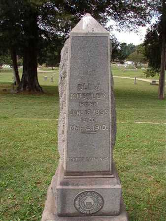 MOSELEY, ELI J - Pulaski County, Arkansas   ELI J MOSELEY - Arkansas Gravestone Photos