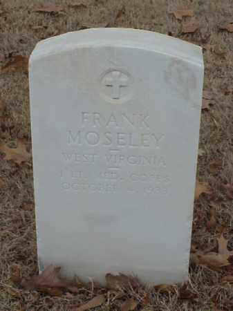 MOSELEY (VETERAN WWI), FRANK - Pulaski County, Arkansas | FRANK MOSELEY (VETERAN WWI) - Arkansas Gravestone Photos