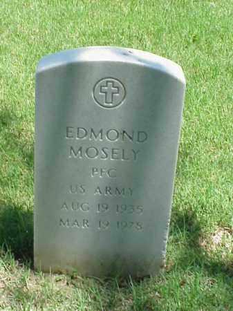 MOSELY (VETERAN), EDMOND - Pulaski County, Arkansas   EDMOND MOSELY (VETERAN) - Arkansas Gravestone Photos