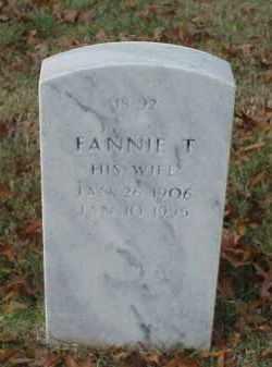 MOSS, FANNIE - Pulaski County, Arkansas | FANNIE MOSS - Arkansas Gravestone Photos