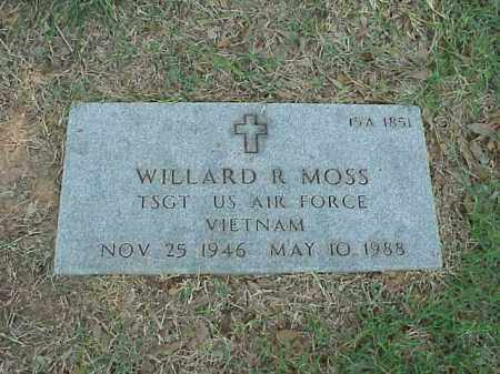 MOSS (VETERAN VIET), WILLARD R - Pulaski County, Arkansas | WILLARD R MOSS (VETERAN VIET) - Arkansas Gravestone Photos