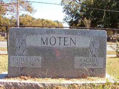 MOTEN, RACHEL - Pulaski County, Arkansas | RACHEL MOTEN - Arkansas Gravestone Photos