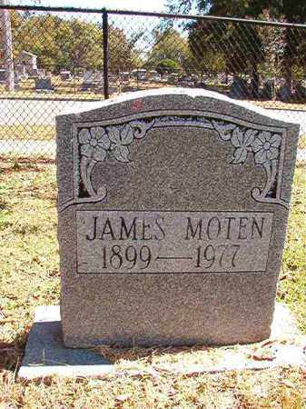 MOTEN, JAMES - Pulaski County, Arkansas | JAMES MOTEN - Arkansas Gravestone Photos