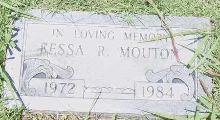 MOUTON, KESSA  R. - Pulaski County, Arkansas | KESSA  R. MOUTON - Arkansas Gravestone Photos