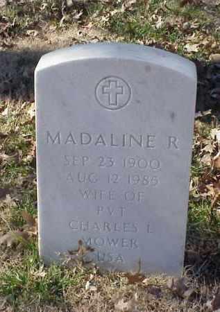 MOWER, MADALINE R - Pulaski County, Arkansas | MADALINE R MOWER - Arkansas Gravestone Photos