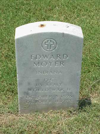 MOYER (VETERAN WWII), EDWARD - Pulaski County, Arkansas | EDWARD MOYER (VETERAN WWII) - Arkansas Gravestone Photos
