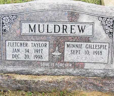 MULDREW, FLETCHER TAYLOR - Pulaski County, Arkansas | FLETCHER TAYLOR MULDREW - Arkansas Gravestone Photos