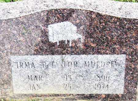 MULDREW, IRMA F - Pulaski County, Arkansas | IRMA F MULDREW - Arkansas Gravestone Photos