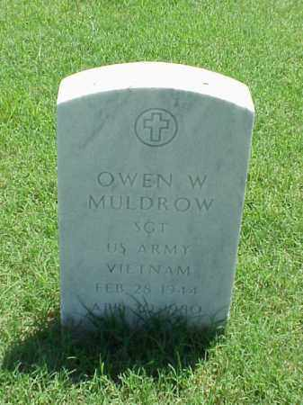 MULDROW (VETERAN VIET), OWEN W - Pulaski County, Arkansas | OWEN W MULDROW (VETERAN VIET) - Arkansas Gravestone Photos