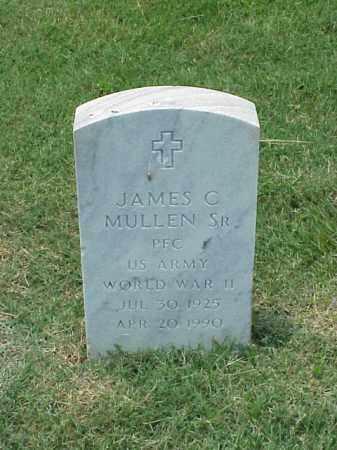 MULLEN, SR (VETERAN WWII), JAMES C - Pulaski County, Arkansas | JAMES C MULLEN, SR (VETERAN WWII) - Arkansas Gravestone Photos