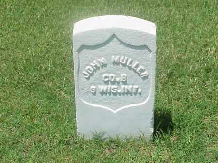MULLER (VETERAN UNION), JOHN - Pulaski County, Arkansas | JOHN MULLER (VETERAN UNION) - Arkansas Gravestone Photos