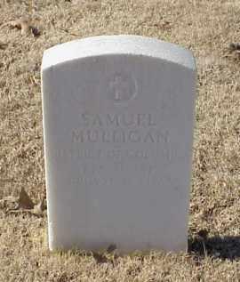 MULLIGAN (VETERAN UNION), SAMUEL - Pulaski County, Arkansas   SAMUEL MULLIGAN (VETERAN UNION) - Arkansas Gravestone Photos