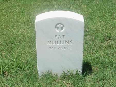 MULLINS, PAT - Pulaski County, Arkansas | PAT MULLINS - Arkansas Gravestone Photos
