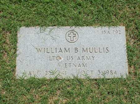 MULLIS (VETERAN VIET), WILLIAM B - Pulaski County, Arkansas   WILLIAM B MULLIS (VETERAN VIET) - Arkansas Gravestone Photos