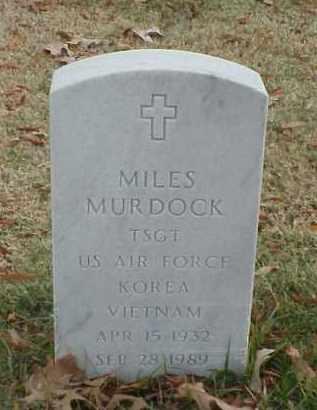 MURDOCK (VETERAN 2 WARS), MILES - Pulaski County, Arkansas | MILES MURDOCK (VETERAN 2 WARS) - Arkansas Gravestone Photos