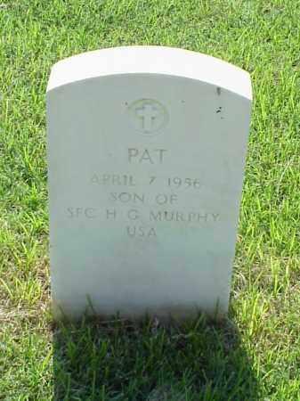 MURPHY, PAT - Pulaski County, Arkansas   PAT MURPHY - Arkansas Gravestone Photos