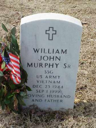 MURPHY, SR (VETERAN VIET), WILLIAM JOHN - Pulaski County, Arkansas | WILLIAM JOHN MURPHY, SR (VETERAN VIET) - Arkansas Gravestone Photos