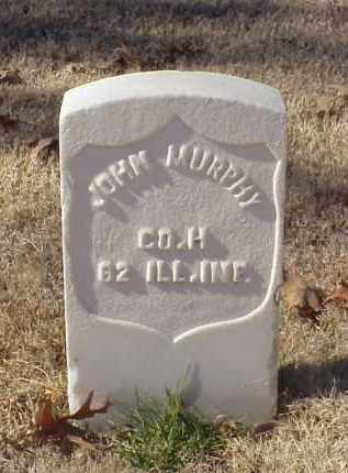 MURPHY (VETERAN UNION), JOHN - Pulaski County, Arkansas | JOHN MURPHY (VETERAN UNION) - Arkansas Gravestone Photos