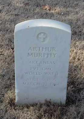 MURPHY (VETERAN WWI), ARTHUR - Pulaski County, Arkansas | ARTHUR MURPHY (VETERAN WWI) - Arkansas Gravestone Photos