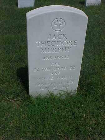 MURPHY (VETERAN WWII), JACK THEODORE - Pulaski County, Arkansas | JACK THEODORE MURPHY (VETERAN WWII) - Arkansas Gravestone Photos